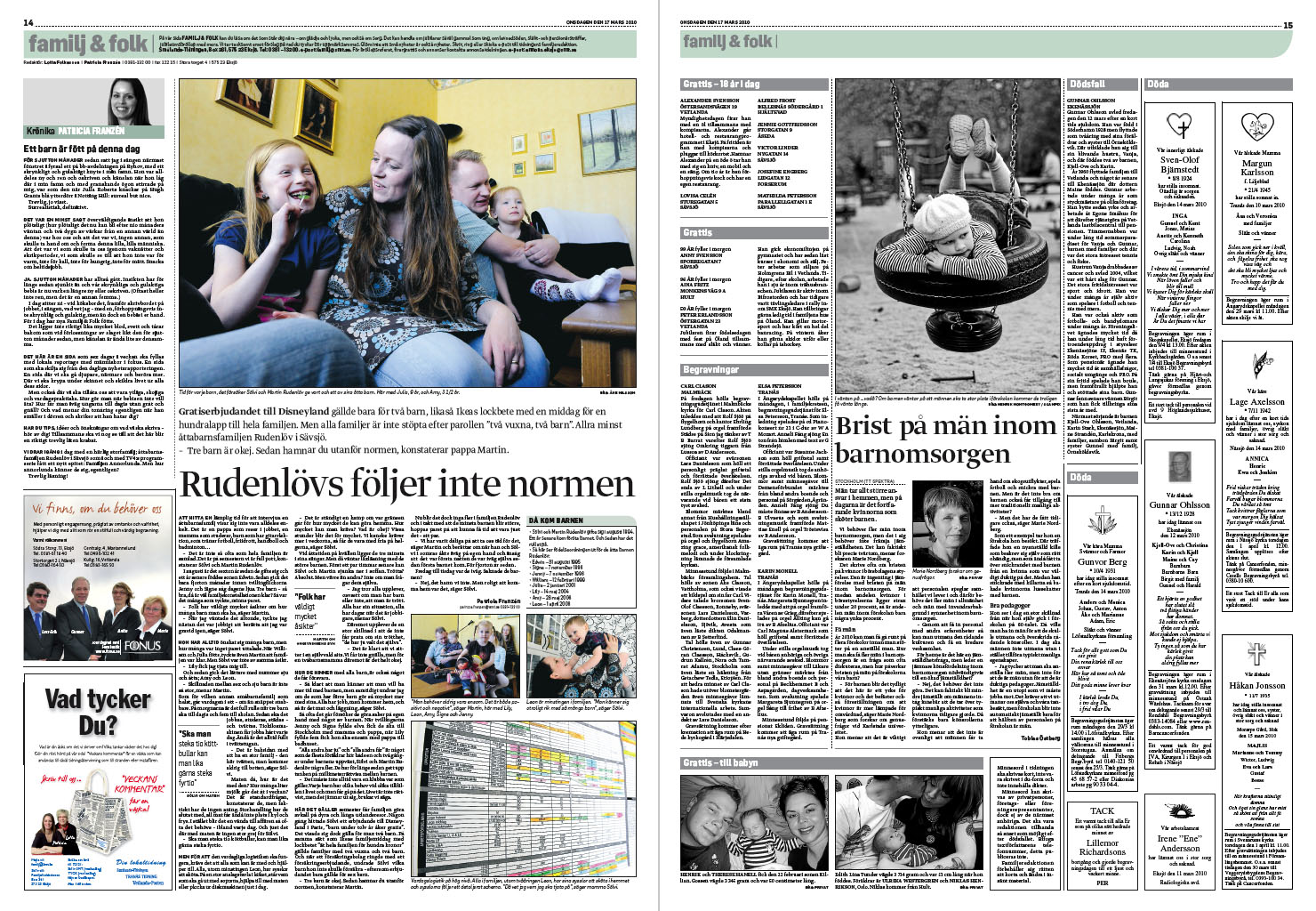 A new design for smaalands tidningen newspaper design for News section design