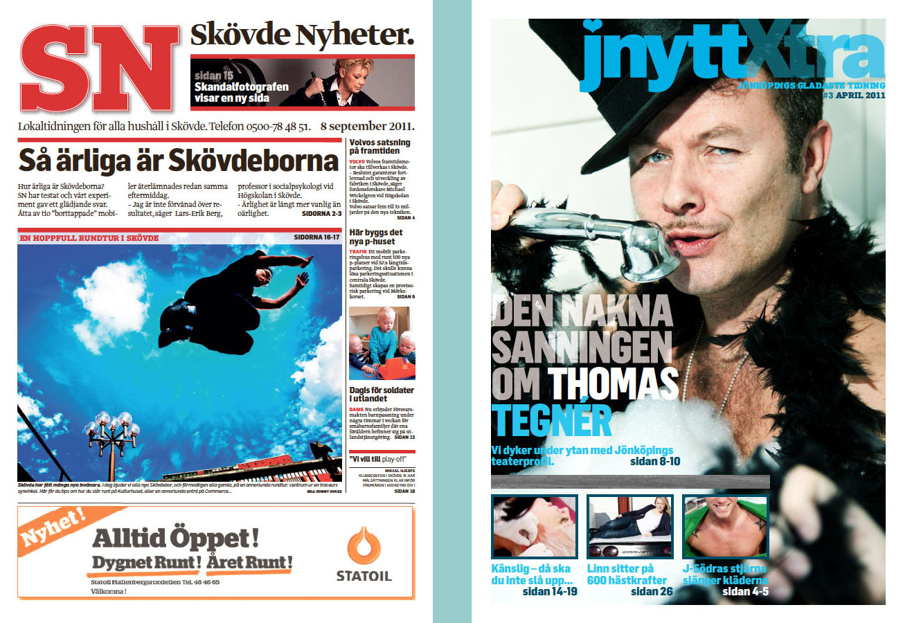 hallpressen streamlining newspaper design without